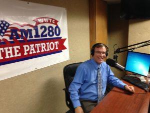 Dwight in studio at patriot0sma