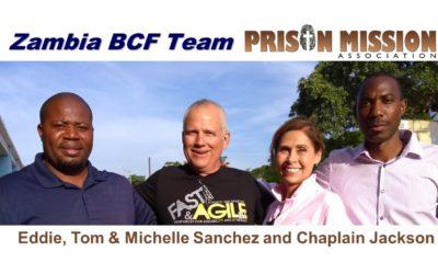 Prison outreach in Zambia Tom Sanchez 2020 Video