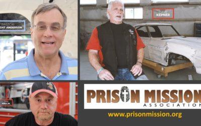 God's work in the lives of Dave Kepner and Jim Kralik – Prison Mission- 2021.